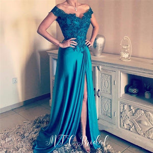 Elegant Long Evening Dress - Junitas Online Store