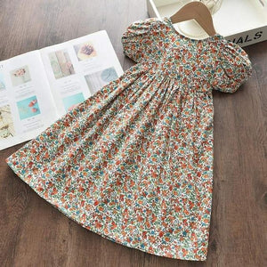 Girls Dresses Summer with Hat - Junitas Online Store
