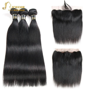 Hair Lace Frontal Closure With Bundles - Junitas Online Store