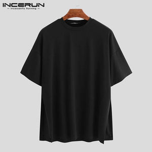 INCERUN Loose Men T-shirts - Junitas Online Store
