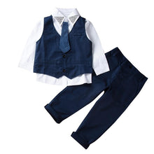 Load image into Gallery viewer, Kids Baby Boys Tuxedo Suit - Junitas Online Store