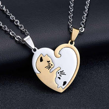 Load image into Gallery viewer, Matching Heart Pendant Necklace - Junitas Online Store