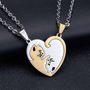 Matching Heart Pendant Necklace - Junitas Online Store