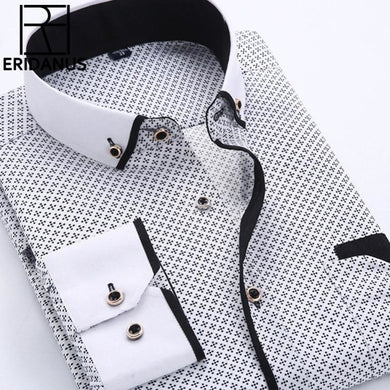 Men Dress Shirt Long Sleeve - Junitas Online Store