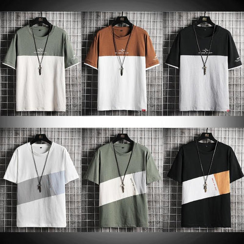 Men's T-Shirts Short Sleeve Fashion - Junitas Online Store