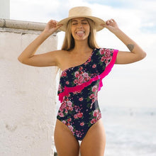 Load image into Gallery viewer, Off The Shoulder Solid Swimwear - Junitas Online Store