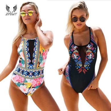 One Piece Swimsuit Push Up - Junitas Online Store