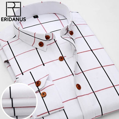 Oxford Plaid Men's Shirt - Junitas Online Store