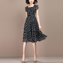 Load image into Gallery viewer, Polka Dot Dress Short Sleeve - Junitas Online Store