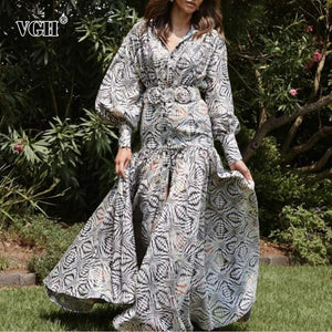 Print Elegant Dress For Women - Junitas Online Store