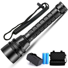 Load image into Gallery viewer, Waterproof Scuba Diving Flashlight - Junitas Online Store