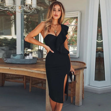 Sexy Bandage Bodycon Celebrity Party Dress - Junitas Online Store