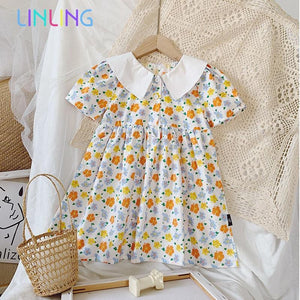 Short-Sleeved Sweet Dress - Junitas Online Store