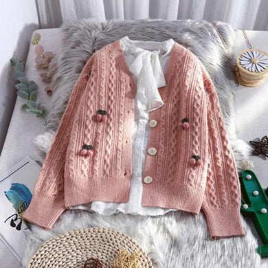 Sweater Coat Chich Sweet Top - Junitas Online Store