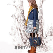 Load image into Gallery viewer, Winter Women's Vintage Plaid - Junitas Online Store