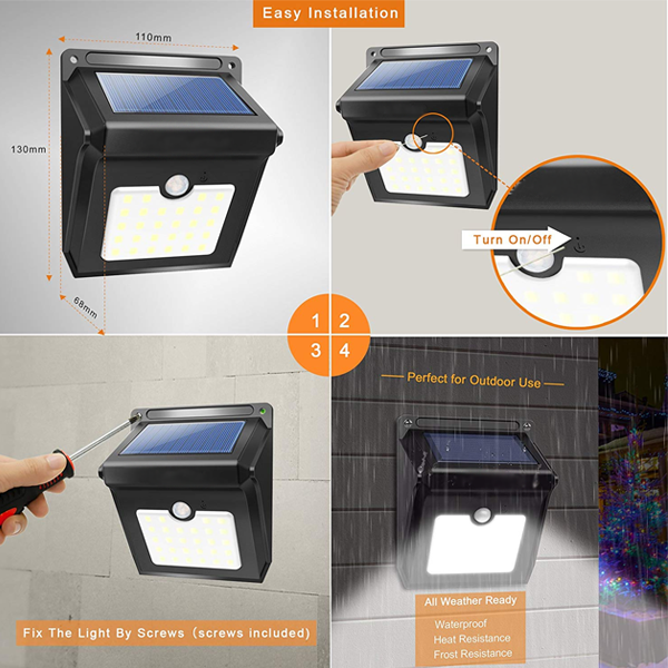Motion Sensor LED Security Light