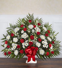 Red & White Basket (WR6)