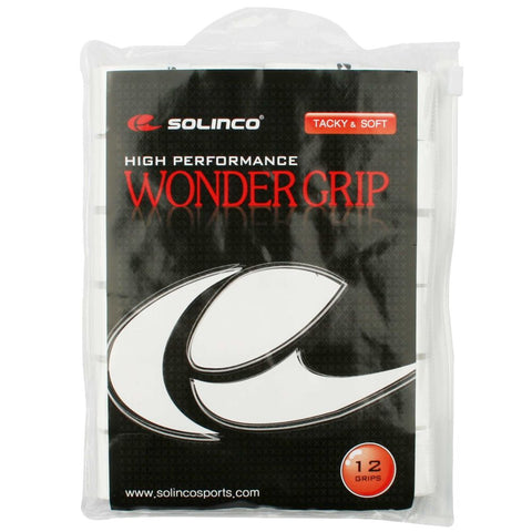 Solinco Wondergrip 12 stuks White