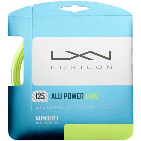 Luxilon Alu Power Set Lime
