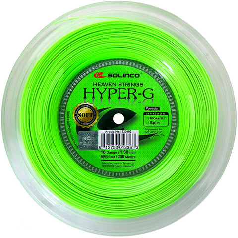 Solinco Hyper G SOFT 200m