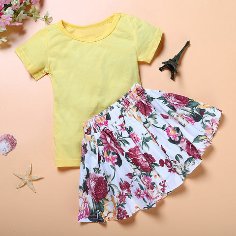 Adorable Baby Girl Floral Dress