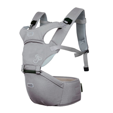 Hip-Seat Ergonomic Baby Carrier