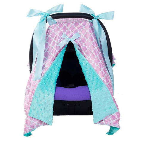 Adore My Baby Nursing Cover & Carseat Canopy with Bow