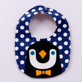 Baby Kids Cartoon Print Bibs