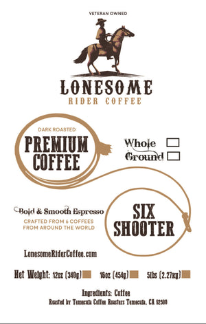 Six Shooter (Unique Craft Blend)