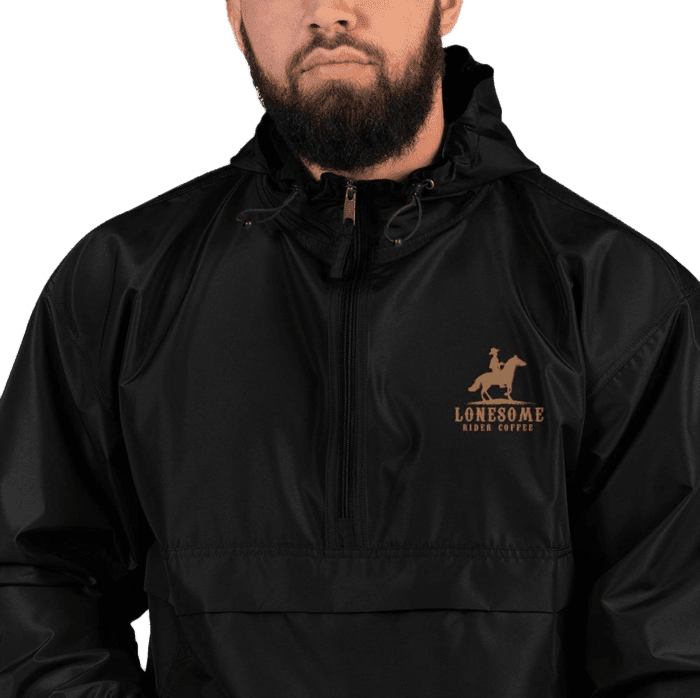 Lonesome Rider Embroidered Champion Packable Jacket