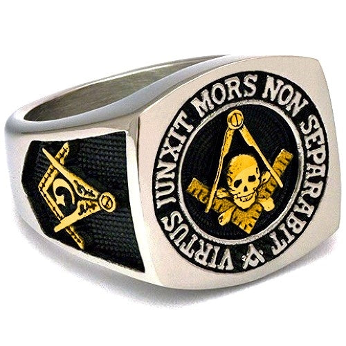 Go over masonic rings symbolizes the key to true loyalty