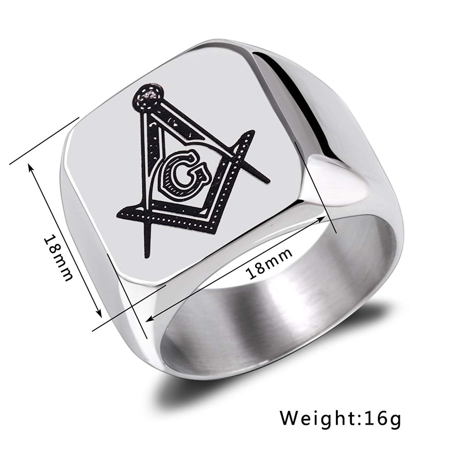Pivotal focuses with respect to the basic sparkling of men masonic rings