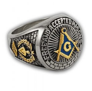 Great effect of fundamental antique masonic rings