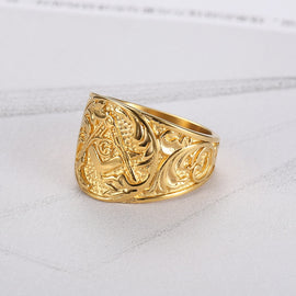 Masonic Gold Ring