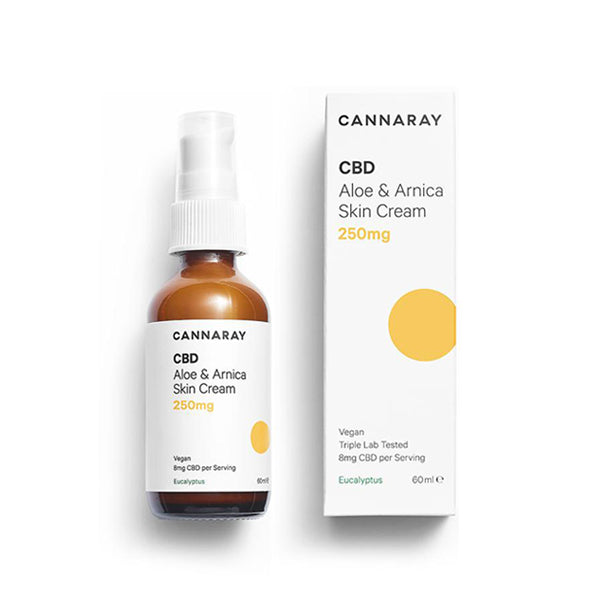 Cannaray CBD Aloe Arnica Skin Cream