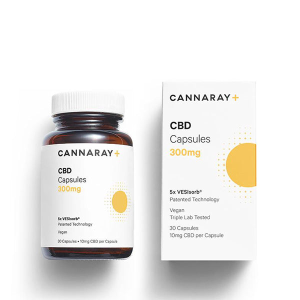 Cannaray CBD Capsules