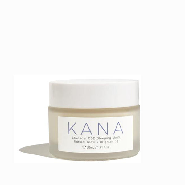 Kana CBD Lavender Hemp Sleeping Mask Jar