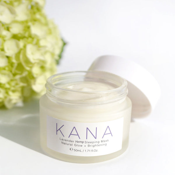 Kana CBD Lavender Hemp Sleeping Mask
