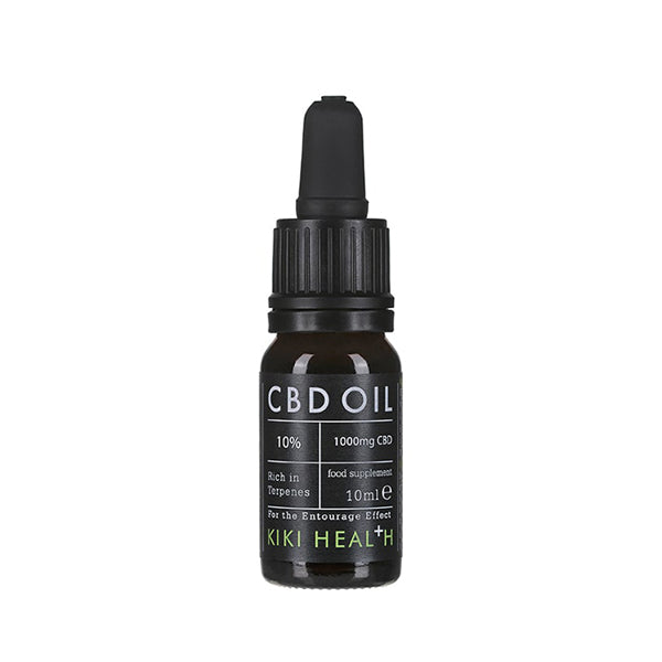Kiki Health CBD Oil 10 Percent Front