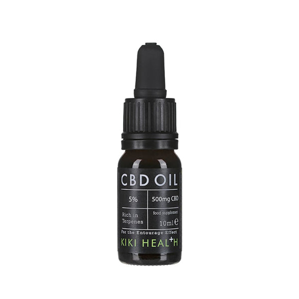 Kiki Health CBD Oil 5 Percent front