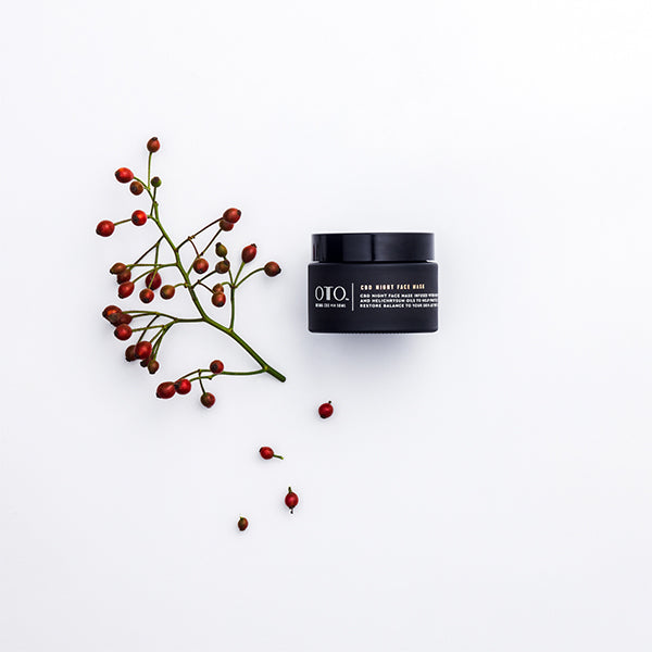 Oto CBD Night Face Mask