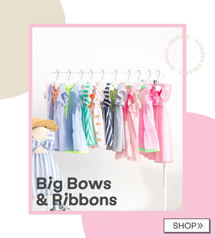 Dresses with Big Bows & Ribbons