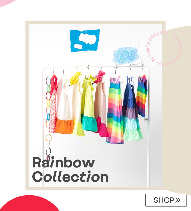 Dresses in our Rainbow Collection