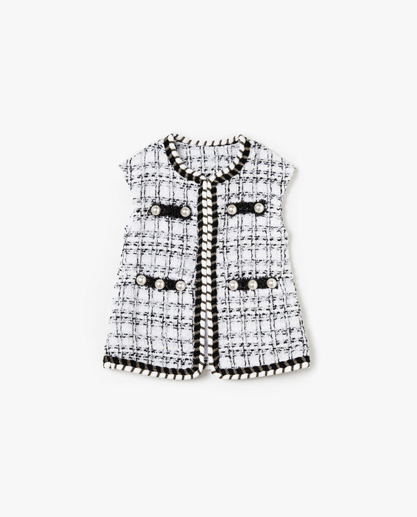 [Out of Stock] Classic Tweed Vest