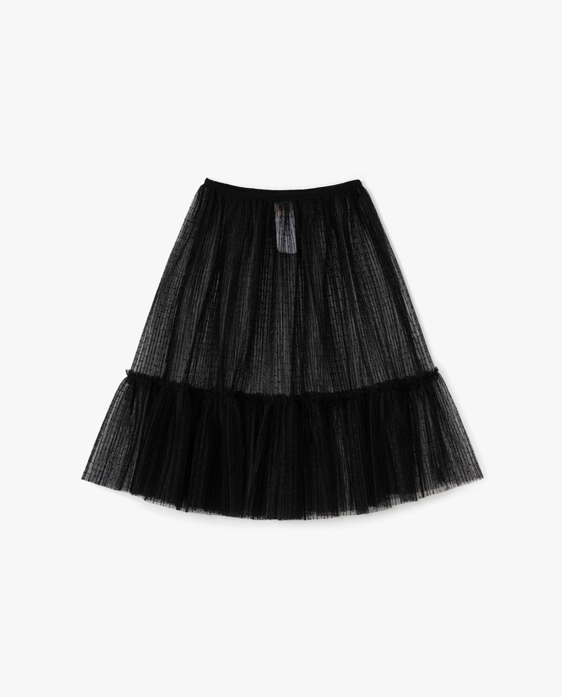 Maya Tulle Flow Skirt Black