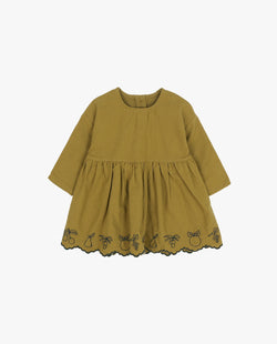 [Out of Stock] Embroidered Baby Dress