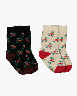 [Out of Stock] [SET] Hibiscus Socks