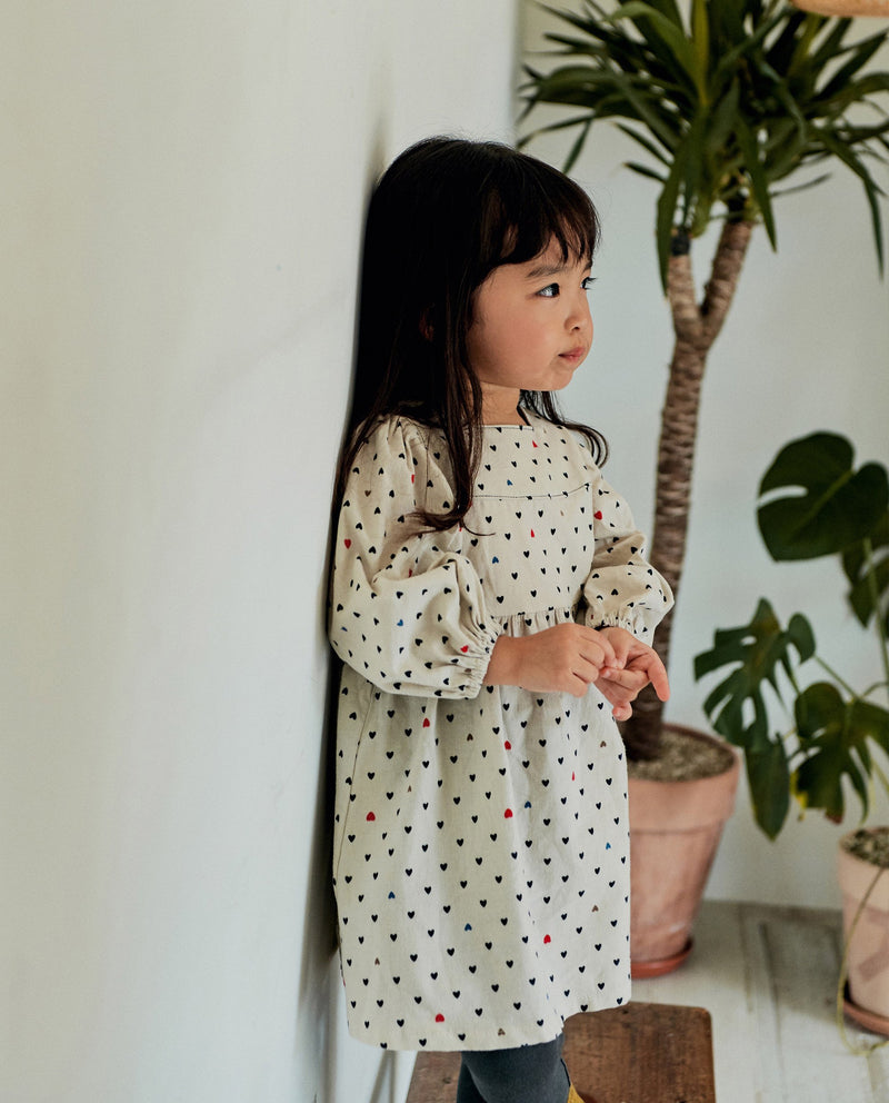 [Out of Stock] Mini Heart Patterned Dress