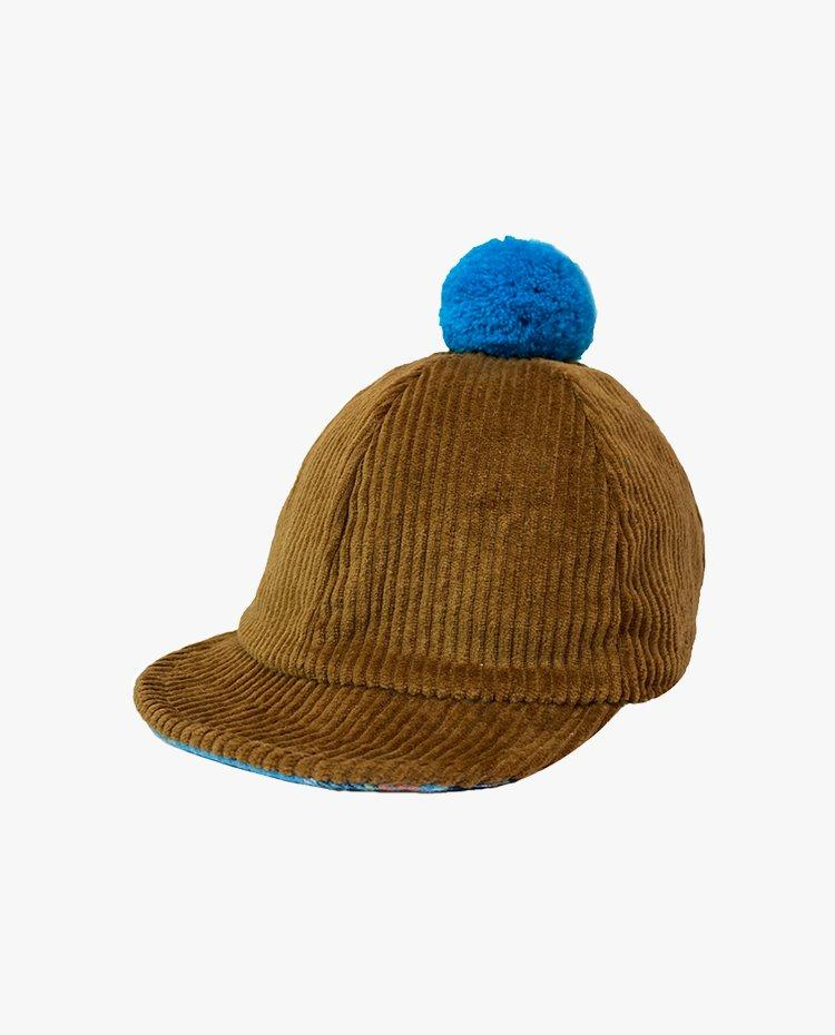 [Out of Stock]Reversible Corduroy Winter Cap (Brown)