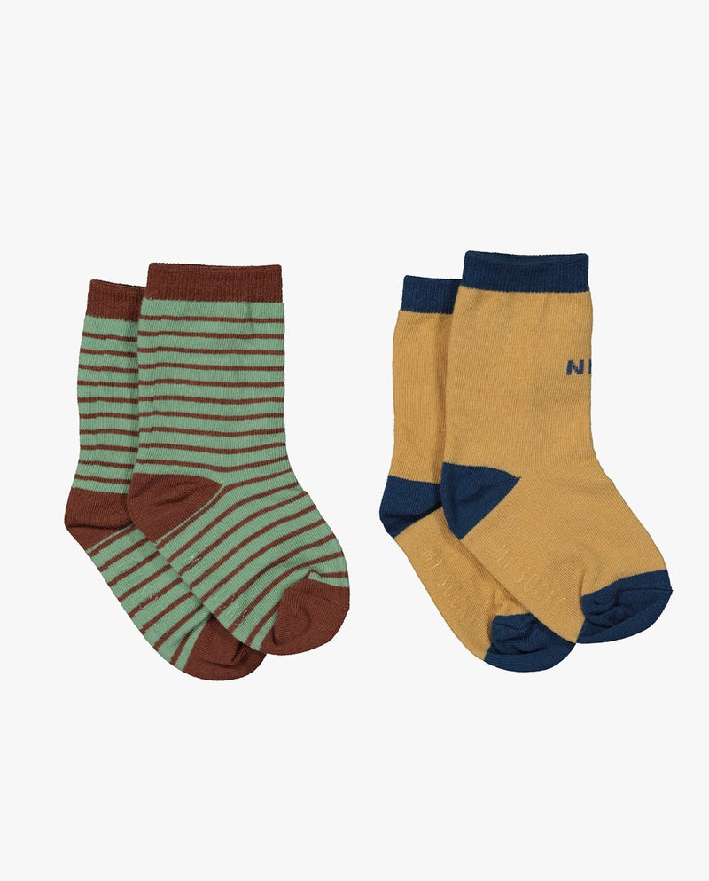 [Out of Stock] [SET] Mint Chocolate Socks
